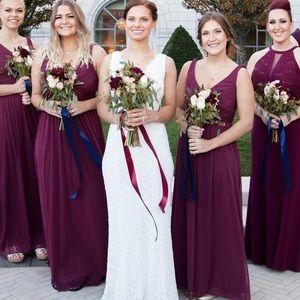 4dd2db1a2cf David s Bridal Dresses - Wine Colored David s Bridal Bridesmaid Dress